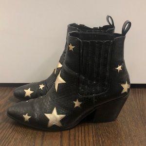 Betsey Johnson Star Booties